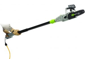 Earthwise corded electric pole saw