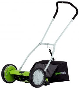 best greenwork push lawn mower
