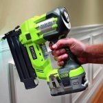 a nail gun for trim work