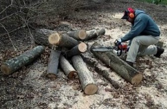 How to Cut Logs with A Chainsaw?